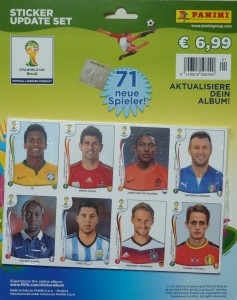 Panini Sticker-Update-Set 2014-1
