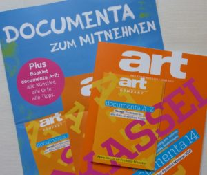 art-Magazin documenta 14- Cover